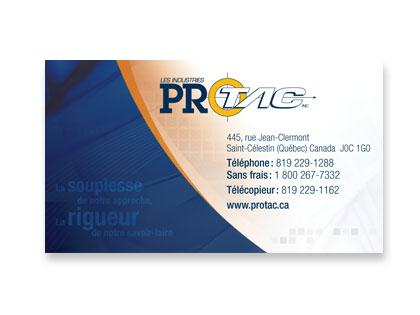 Protac business card Canada